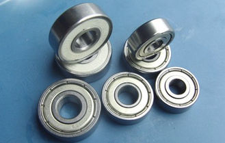 Single Row Deep Groove Ball Bearing Low Friction For Motorcyles