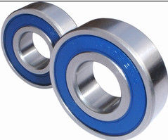 Machined Deep Groove Ball Bearing Rubber Shield With P0 / P5 / P6 Precision