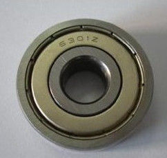 6301 ZZ/2RS Deep Groove Ball Bearing , High Preccison Sleeve Bearing For Electric Motors