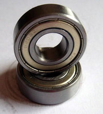 Carbon Steel Deep Groove Ball Bearing 6202-2RS , 6202-ZZ , Single Row