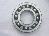 Black Chamfer Deep Groove Ball Bearing 6330 C3 , Single Row, Steel Cage with High Precision