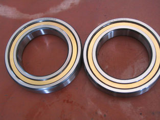 High Precision Angular Contact NTN Ball Bearing QJ Series With Less Coefficient Friction