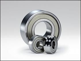 Single Row NTN Bearing , Angular Contact Ball Bearings 00000 A-RS Series