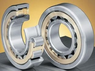 Single Row NTN Cylindrical Roller Bearings For Motor / Rolling Mill NUP Series