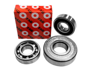 Full Complement Cylindrical Caged Roller Bearing NTN Seals Open N328 N1036