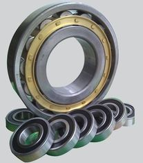 NU407 Cylindrical Roller Bearing Chrome Steel With P5 / P6 Precision Rating