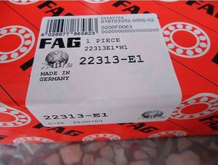 Double Row Spherical Roller Bearing Heavy Loading With E1 Cage 22313E1