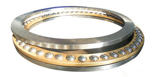 High Performance Thrust Ball Bearing Single Row With Carbon / Chrome Steel 51213