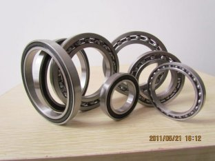 Z, ZZ, RZ, 2RZ, RS, 2RS, RW, 2RW and N models, GCr15, Bearing Steel Thin-wall Bearing